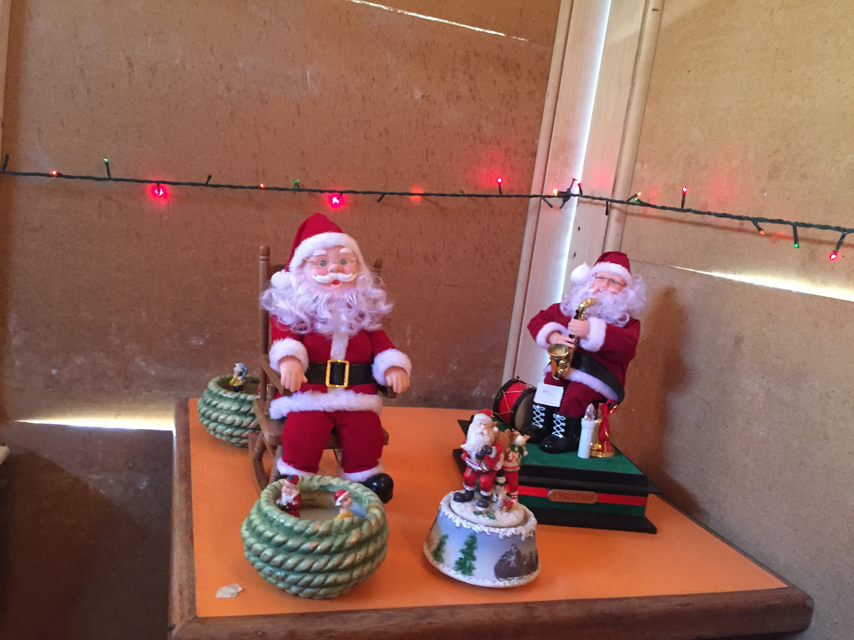 Father Christmas gets his own altar